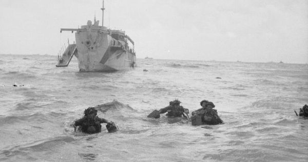 d day landings who was involved