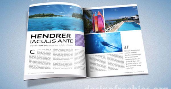 free adobe indesign magazine template indesign pinterest. Black Bedroom Furniture Sets. Home Design Ideas