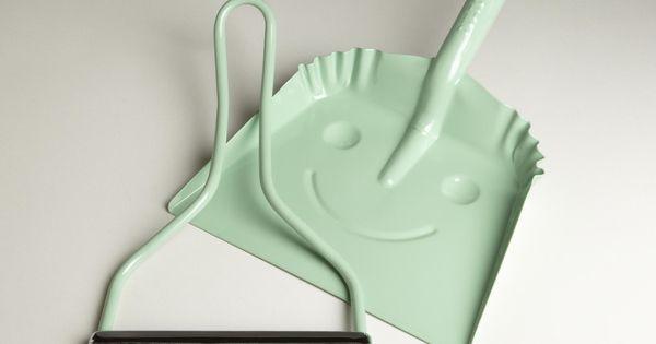 Mint Smiley Dustpan | World Market - Worldmarket