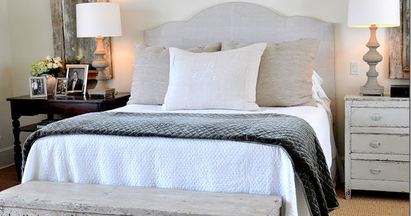 I love the bench with the scalloped detail at the bottom of the bed furniture spiration - Bench at bottom of bed ...