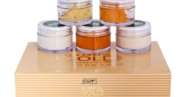 Jovees 24 Carat Gold Rejuvenating Mini Facial Kit Gold Facial Kit Mini Facial Face Products Skincare