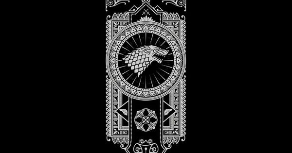 House Stark #iPhoneWallpaper