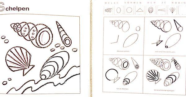 Schelpen leren tekenen stap voor stap tekenen pinterest tekenen - Hoe sluit je een pergola ...