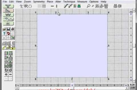 Knitting Pattern Design Software : Designaknit knitting software
