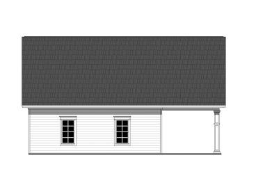 Rear View 001g 0003 With Images Garage Plans Garage Plan Carport