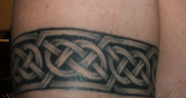 Viking Armband Tattoo Designs: Celtic-armband-tattoo-design-9