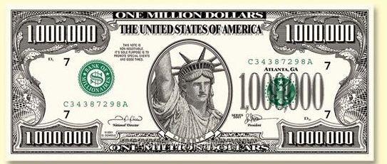 Fake 1000 Dollar Bill Printable Awesome Money Play China Wholesale Money Play One Million Dollar Bill One Million Dollars 1000 Dollar Bill