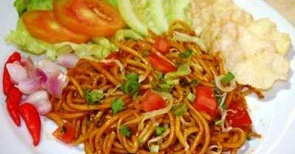 Resep Mie Gomak Balige Goreng Siantar Paling Enak Bumbubalado Com Resep Makanan Resep Lauk Makan Malam