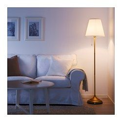 Arstid Floor Lamp Brass White Ikea Lampade Da Terra Ikea Lampade Da Terra Idee Ikea