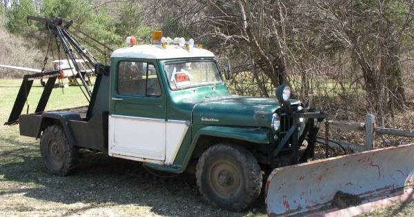 1962 truck wrecker plympton ma1 willys jeep pinterest best jeeps ideas. Black Bedroom Furniture Sets. Home Design Ideas