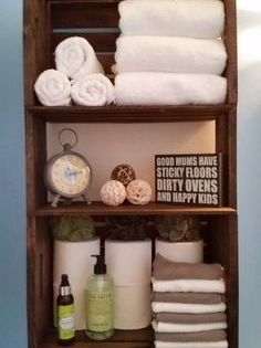 How To Build A Crate Shelving Unit The Home Depot Community Holzkisten Regal Badezimmerideen Regal Holz