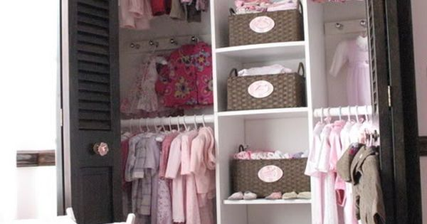 Not that I need ideas for a child's closet :P But the