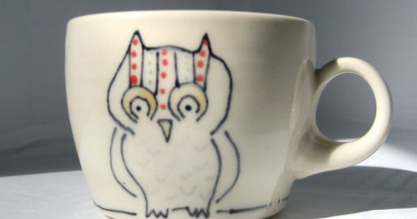 Owl espresso cup. So cute!