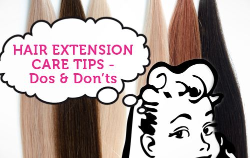 Important Hair Extension Care Tips that you need to know (Can't believe