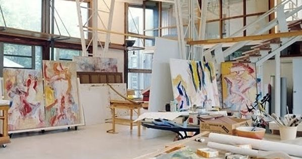 Willem de Kooning studio space