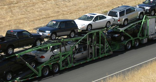 Enclosed Auto Transport Services Car Transportation Freight Truck