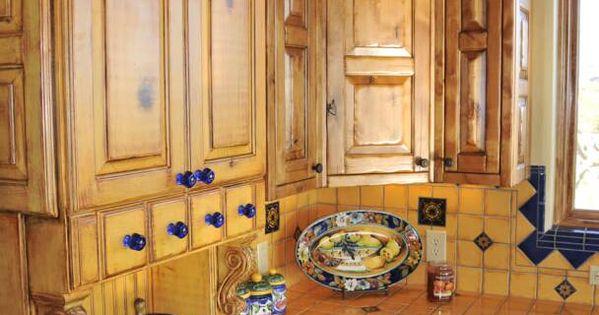 Mexican Style Kitchen Talavera Tile Southwest Living