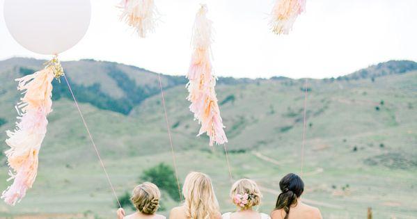 Whimsical Wedding Details We Adore Colorado Wedding Wedding Balloons Peach Wedding Theme