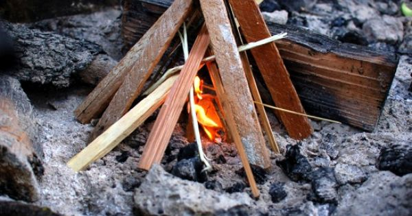 Diy firestarters sawdust and paraffin or beeswax in