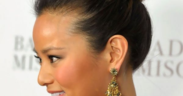 to medium haircuts images of classic high bun updos hairstyles for medium 9622