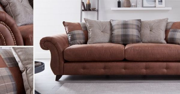 Stanbury Formal Back 2 Seater Deluxe Sofa Bed
