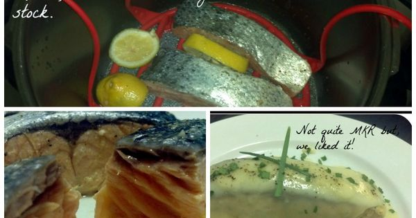 Succulent salmon fillets cooked in 5 mins in the pressure for Pressure cooker fish recipes