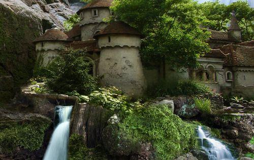 waterfal castles in poland | visit geotourismandgems blogspot com