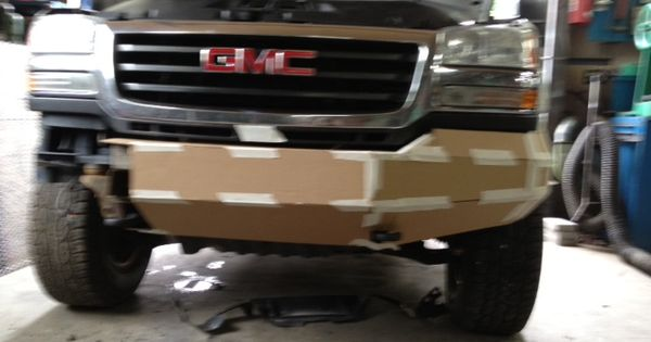 Custom Front Bumper On Gmc Photo Albums Bumpers