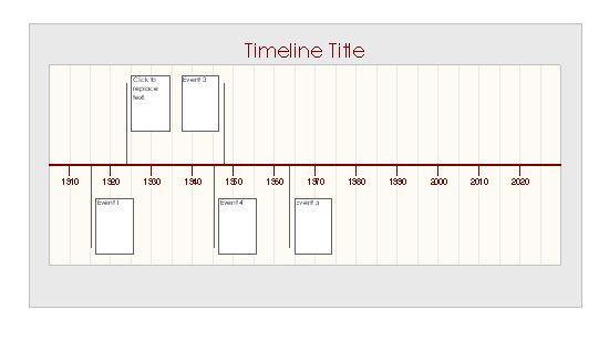 ms excel timeline template