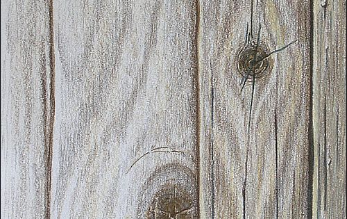 How to Draw Realistic Wood Grain Details with Colored ...