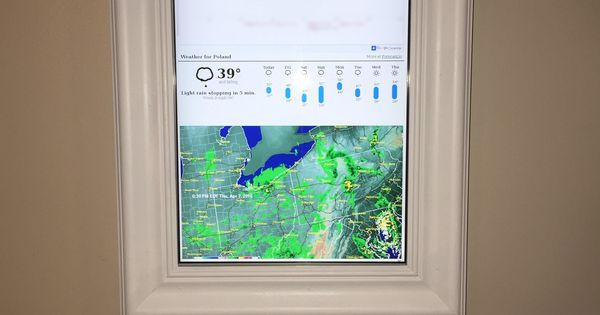 Diy Google Calendar : Raspberry pi framed informational display google