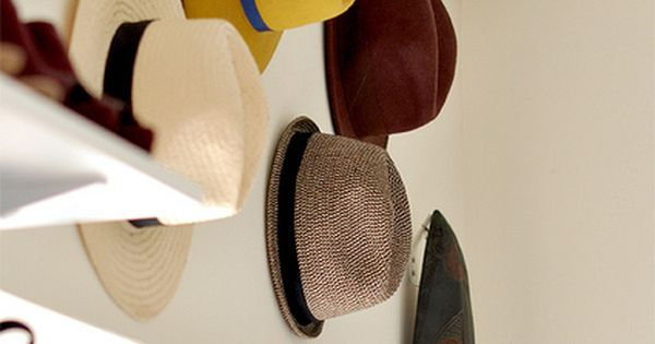 super fun way to store cute hats