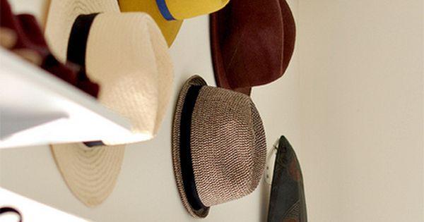 super fun way to store cute hats