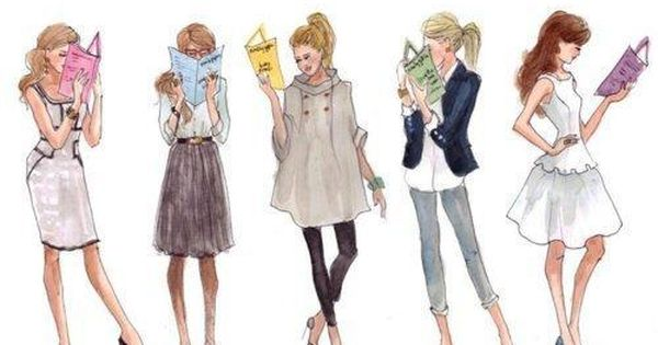 fashion sketches.. reading