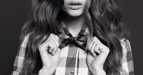Fashion Model: Josephine Skriver bowtie