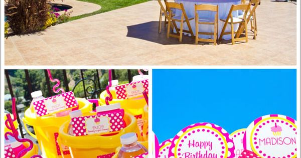 beach theme party idea :)