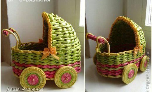 - Reciclar cestas de mimbre ...
