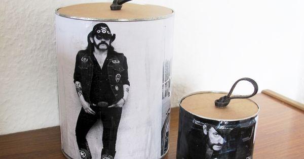 dosen aufbewahrung krimskrams upcycling konservendosen erdnussdosen diy ordnung. Black Bedroom Furniture Sets. Home Design Ideas