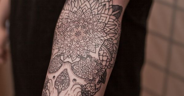 Skull Tattoo Pattern