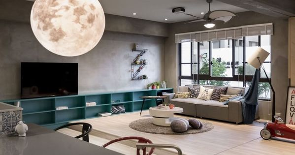 Outer space for kids by hao interior design interior for Outer space interior design