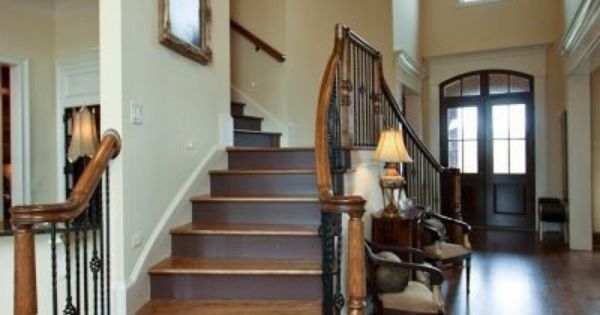 Double Sided Staircase A Sweet Housing Stuff Pinterest