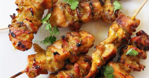 Turmeric, Thai chicken and Chicken skewers on Pinterest