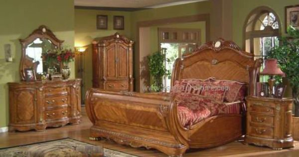 1930s bedroom furniture styles antique solid wood - Real wood bedroom furniture sets ...