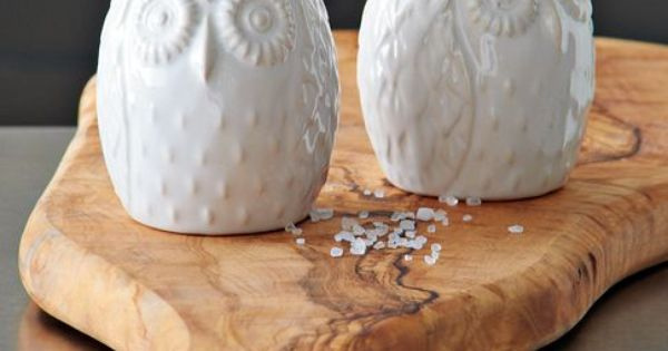 Owl Salt Pepper Shakers westelm