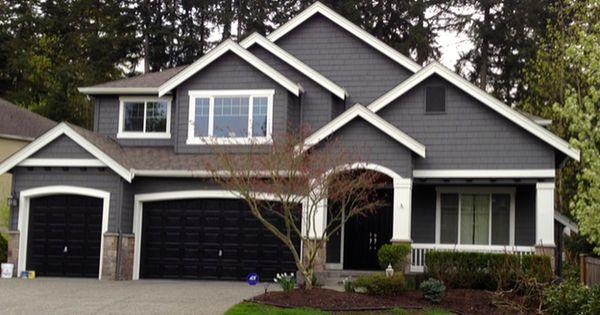 Modern exterior paint colors for houses design och for Weatherside siding