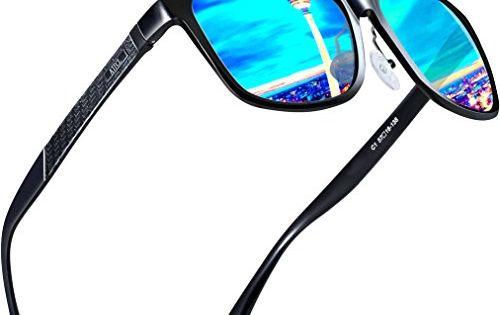Attcl Homme Fashion Conduite Lunettes De Soleil Polarisées Homme Al-Mg cadre en métal ultra...