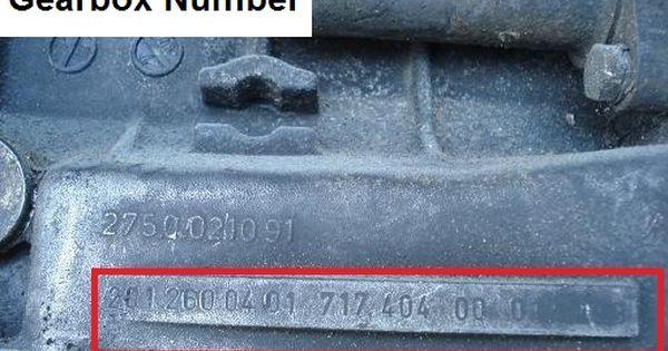 Mercedes W201 190e 2 5l 16 Valve Gearbox Number Sedan Mercedes Valve