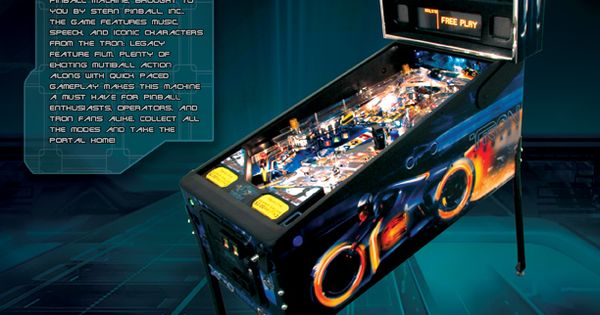 legacy pinball machine