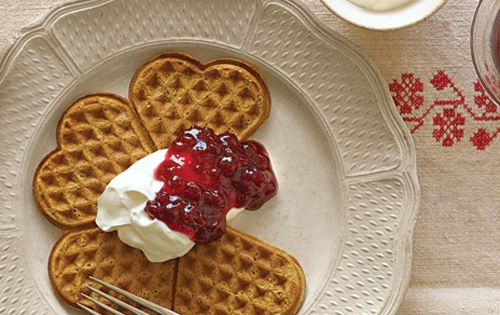 Gingerbread Waffles Recipe | Cooking | How To | Martha Stewart Recipes