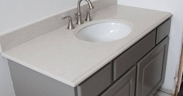 How to paint bathroom cabinets withheart benjamin moore - How to refinish a bathroom vanity ...